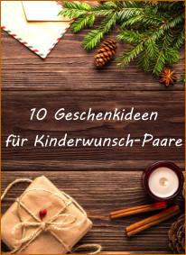 Kinderwunsch-Geschenkideen